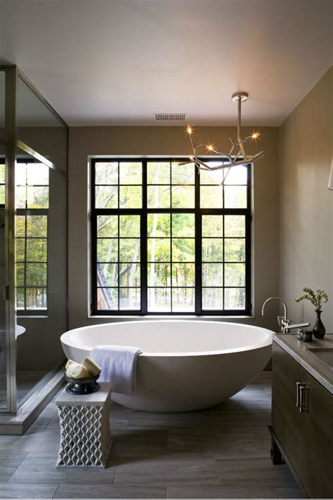 contemporary and elegant bathroom interior design of modern bathroom side table design ideas
