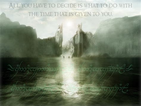 of wisdom lord of the rings images words of wisdom wallpaper photos 2908306
