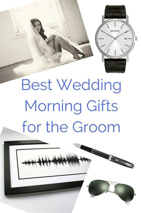 19 Best Wedding Morning Gifts for the Groom   Wedding