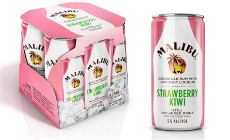 malibu rum can malibu launches malibu strawberry kiwi cans 2016 02 04