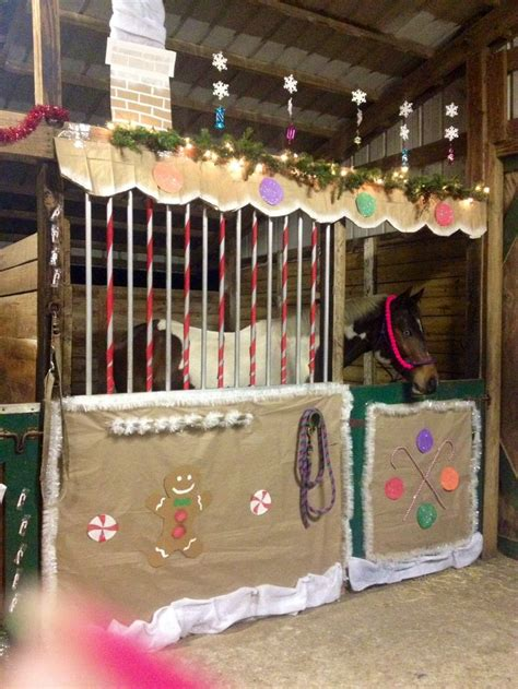 decorating a steel barn for christmas top 16 ideas about stall decoration ideas on ponies signs and stalls