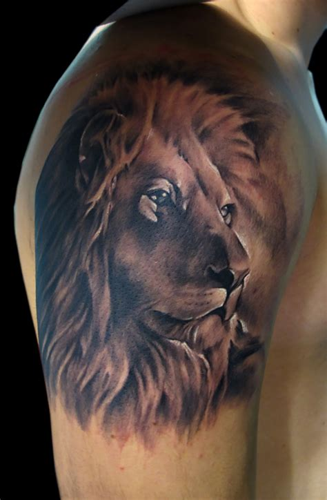Tattoo On Arm Lion | 30 lion tattoo designs for men