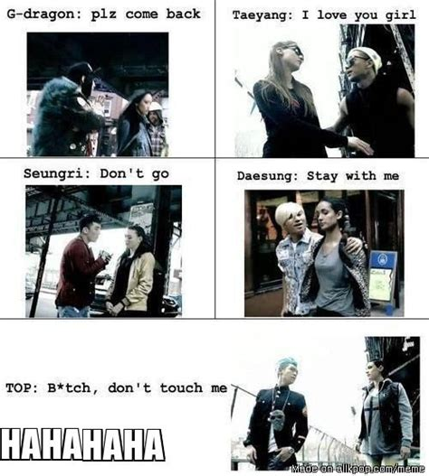 Big Bang Meme - bigbang and girls allkpop meme center