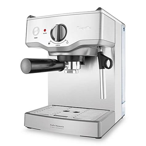 bed bath and beyond breville breville 174 cafe venezia model bes250xl espresso machine