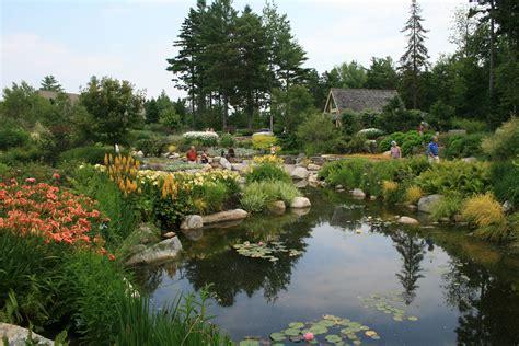 Maine Botanical Gardens Coastal Maine Botanical Gardens Landscape Notes