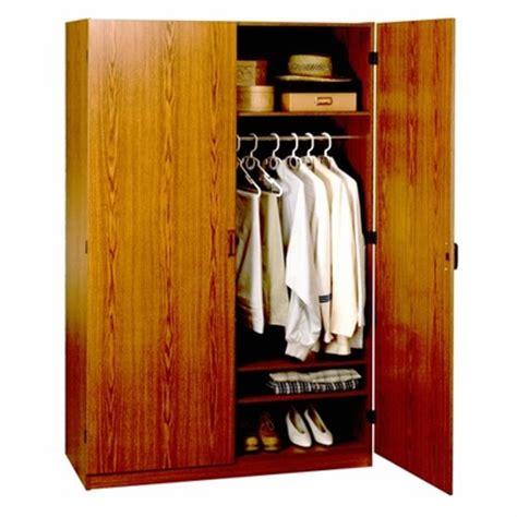 4 Foot Closet Organizer by 4 Foot Oak Wardrobe Closet 9155