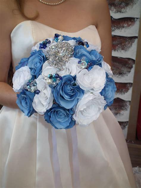 Blue Wedding Bouquets by Bridal Bouquets Bridal Bouquets