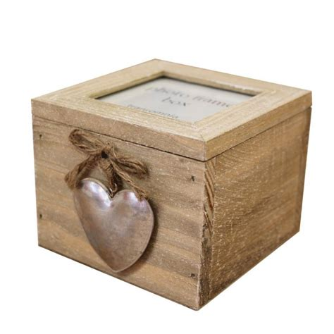 Decorative Craft Ideas For Home by Heaven Sends Heart Detail Wooden Photo Frame Trinket Box