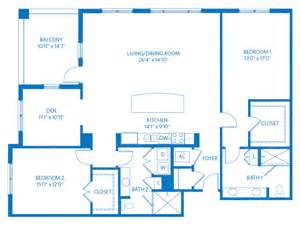 3 Bed 2 Bath Floor Plans Naples Independent Living Homes Floor Plans Bentley