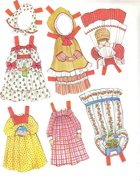 pattern paper doll 150 best paper dolls the ginghams images on pinterest