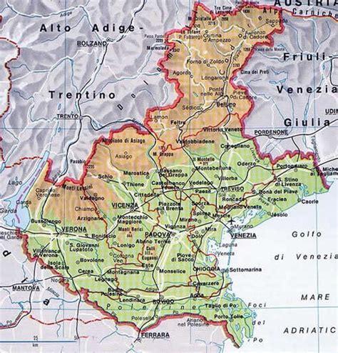 di veneto la regione veneto propone di ridurre le province da 7 a7