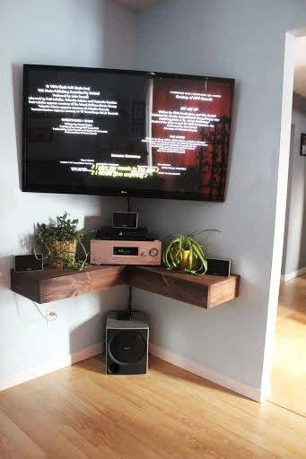 corner tv wall mount 15 modern tv wall mount ideas for living room corner shelves and tvs