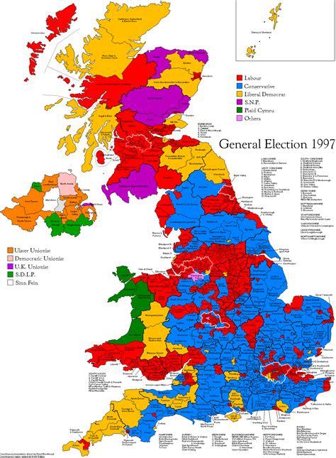 uk election general election 1997