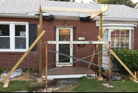 Gable Porch Roof Construction Issues With Rustic Gable Roof Framing Front Porch