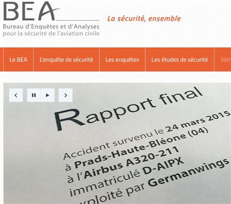 bureau d enqu黎es et d analyses pnrs rapport du bureau d enqu 234 tes et d analyses