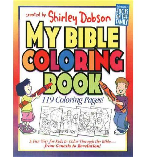 my bible story coloring book the books of the bible books my bible colouring book shirley dobson 9780830720682