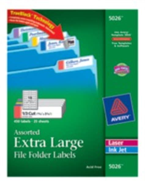 avery 5026 template large file folder labels