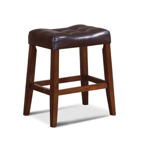 24 Saddle Bar Stools by 24 Quot Espresso Saddle Counter Stool Dining Room Bar Stools