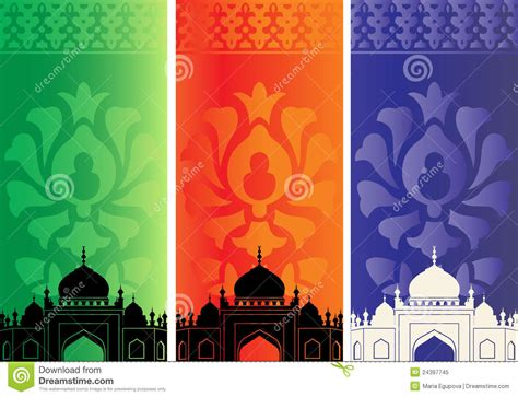 islamic banners  mosque royalty  stock photo