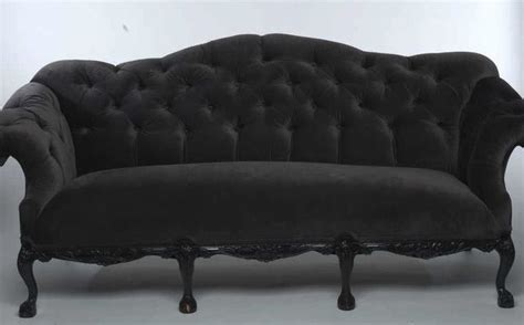 black velvet tufted sofa tufted couches chairs headboards black and white