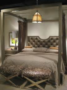 Canopy Bed Master Bedroom Bedroom Zenlike Master Bedroom Featuring Darkfinished