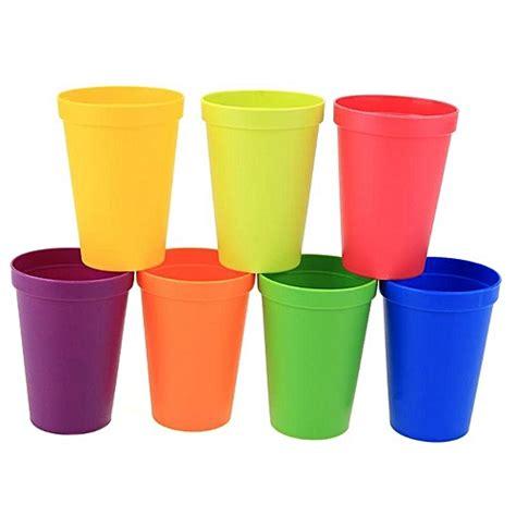 color cup buy other 7pcs set plastic cups rainbow color portable