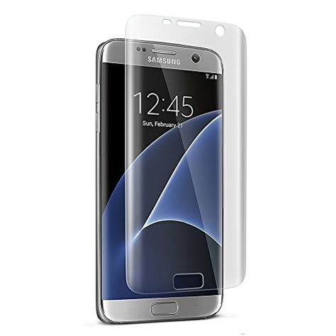 Samsung Galaxy S7 3d Carbon Screen Guard Anti Gores Protector Casing wholesale samsung galaxy s7 pet anti shock screen protector clear
