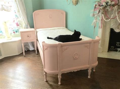 antique looking bed frames omg antique bed frame shabby chic distressed pink