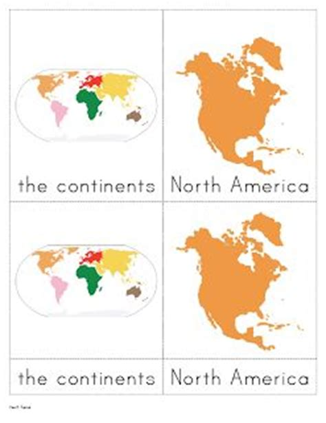 free printable montessori geography materials free geography materials from the helpful garden