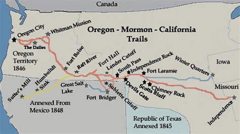 the oregon trail map pioneer profiles historic jacksonville inc