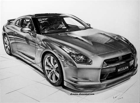 nissan skyline drawing nissan skyline gt r by donescu on deviantart