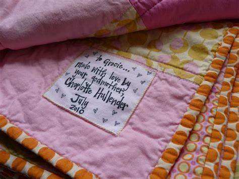 Handmade Quilt Labels - 25 best ideas about quilt labels on quilting