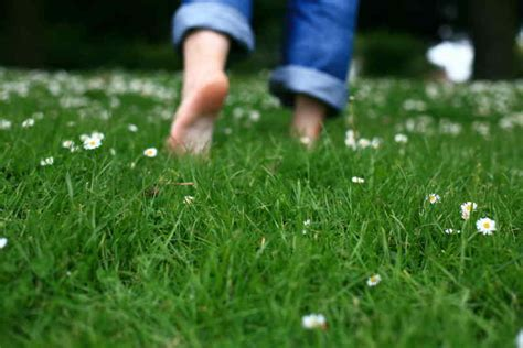 Barefoot Shoes by Unbelievable Health Benefits Of Walking Barefoot On Grass