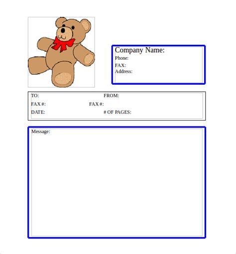 cute printable fax cover sheets sle cute fax cover sheet 7 documents in pdf word