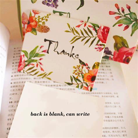 aliexpress messages aliexpress com buy 50pcs mini thanks card flower style