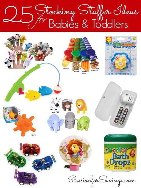 stocking stuffer ideas for babies toddlers