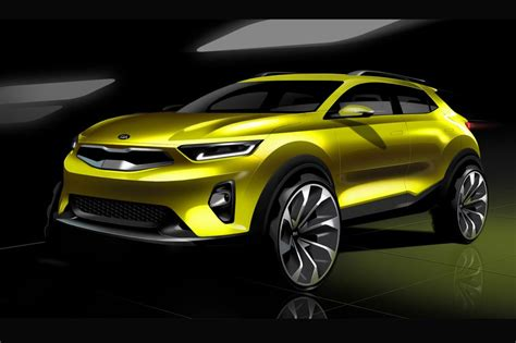 Is Kia A Reliable Brand Kia Stonic Suv Revealed In New Sketches Sports Brand New