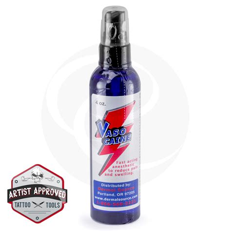 tattoo lotion brands lidocaine vasocaine tattoo numbing topical anesthetic