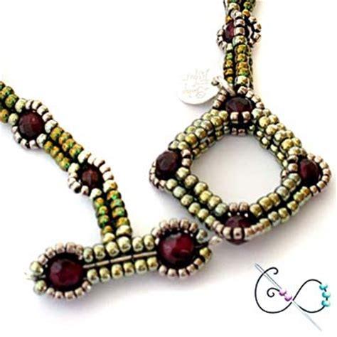 beaded toggle clasp bead infinitum patterns and kits beaded rivoli urchin