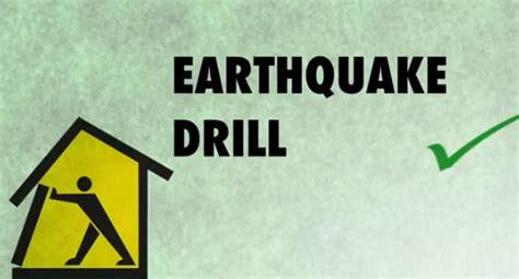 earthquake drill 1 first earthquake drill baclaran national high school