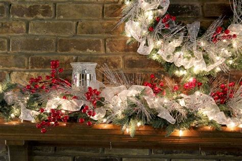 christmas mantel decor ideas festive colors and joyful mood