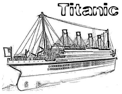 titanic coloring pages coloring pages pinterest titanic