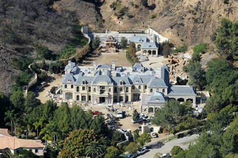 wahlberg building mansion in l a