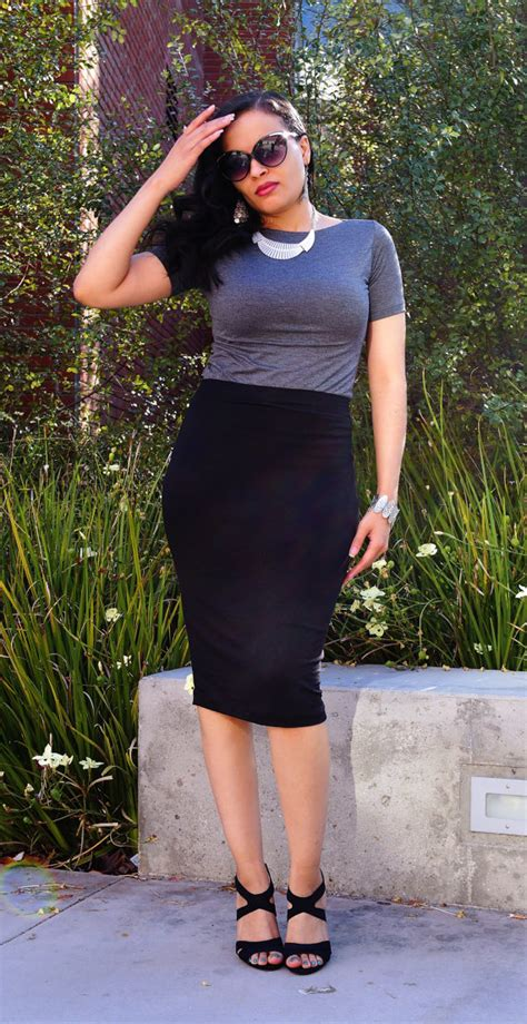black midi skirt pencil skirt plus size pencil skirt