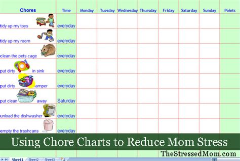House Chore Schedule Template house chore schedule template schedule template free