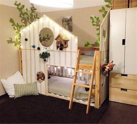 Ikea Hochbett Kinderbett by 1000 Ideen Zu Hochbett Kinder Auf Ikea