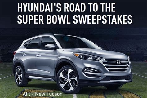 Football Hyundai Sweepstakes - win a trip to super bowl 50 sweepstakesbible