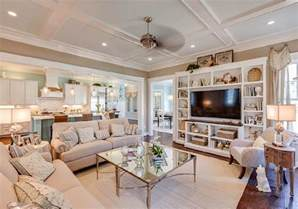 Living Room Kitchen Open Floor Plan New 2015 Coastal Virginia Magazine Idea House Home Bunch Interior Design Ideas