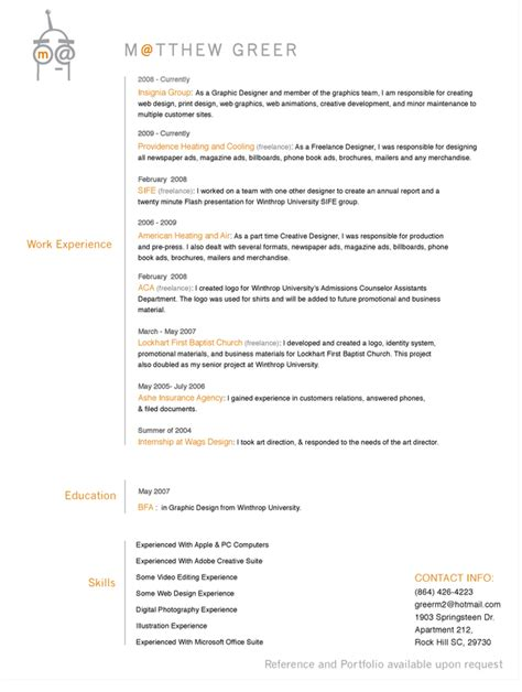 27 more outstanding resume designs part ii dzineblog