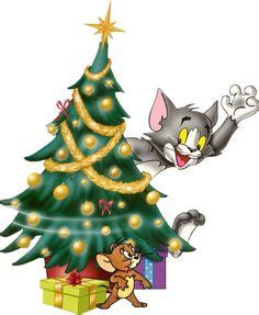cartoon snowman tom and jerry s christmas wallpaper by